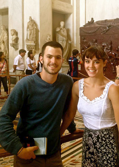 RILA students at the Vatican Museums